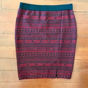 NWT Sanctuary Geometric Print Bodycon Pencil Skirt